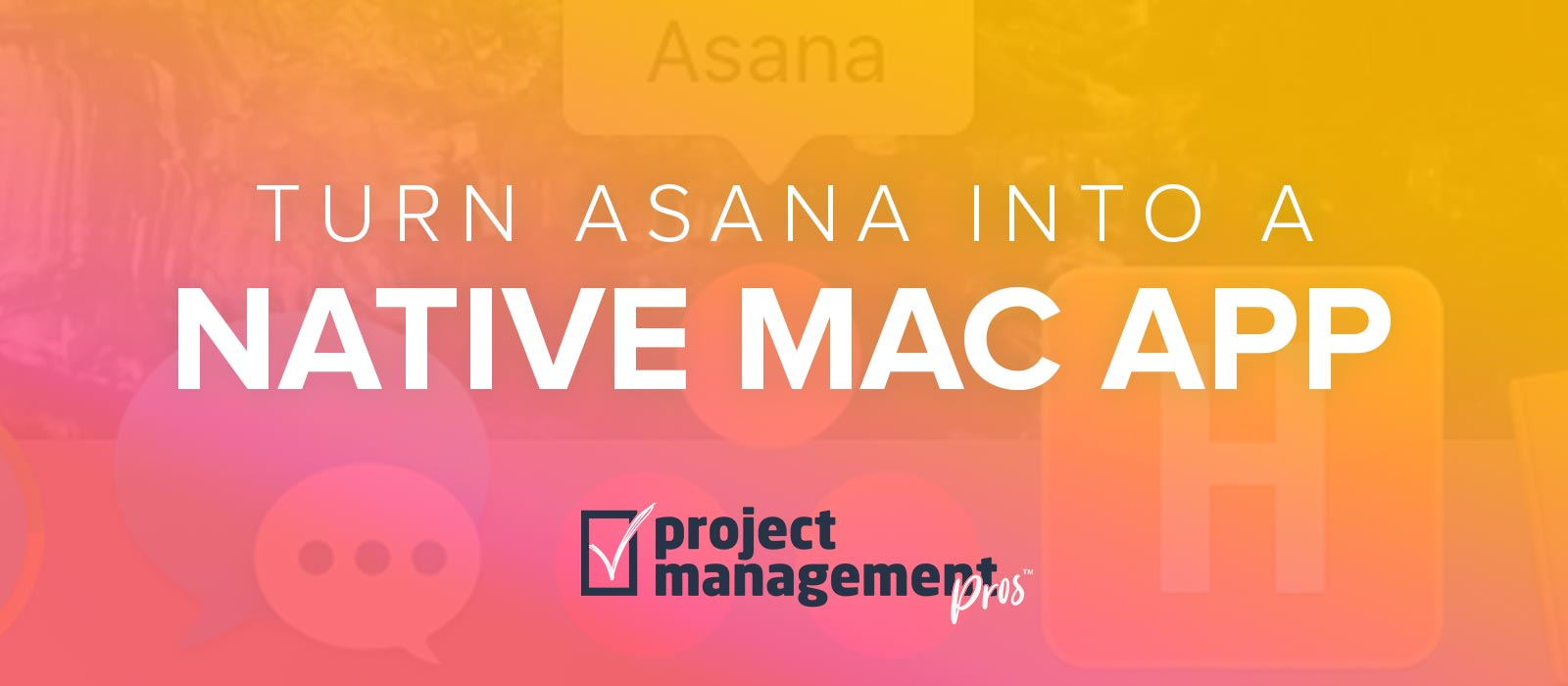 Turn Asana into a native Mac app with Fluid